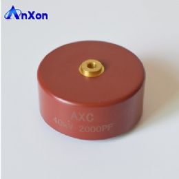 AnXon 40KV 2000PF 2nF N4700 high voltage pulse generators use ceramic pulse capacitor